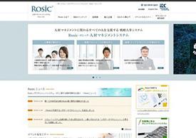 Rosic(ロシック) の公式サイトキャプチャ